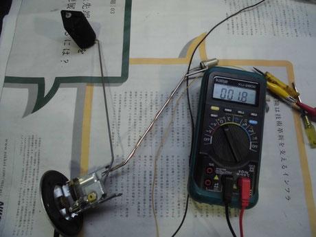 AW11 MR2 フューエルゲージ修理
