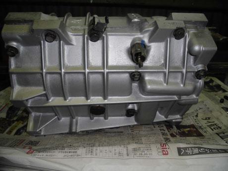 AE86 T-50 ミッションケース組付け