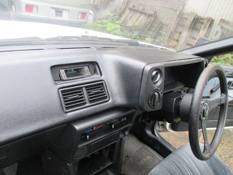 AE86 ダッシュボード ひび割れ 修理