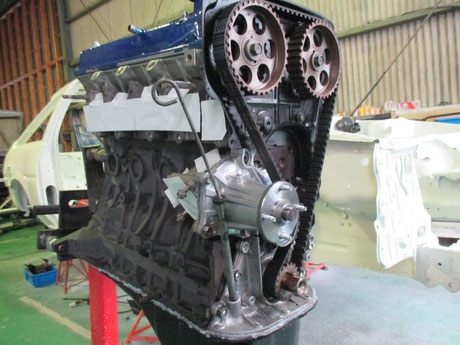 AE86 4AG リビルトエンジン