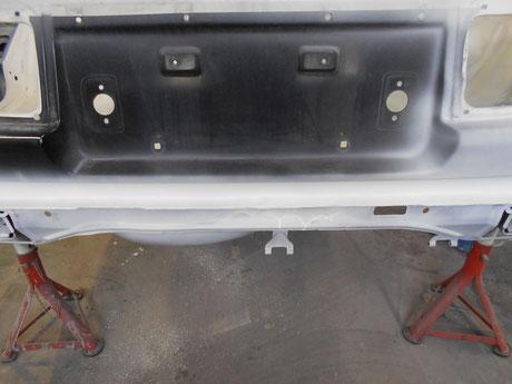 AE86 バックパネル修理 レストア