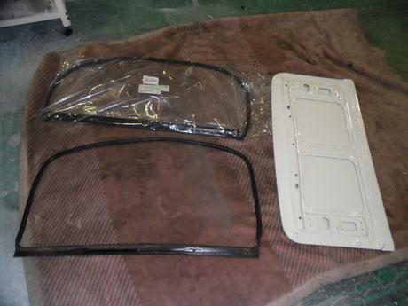 AE86 トレノ サンルーフのウェザーストリップ交換