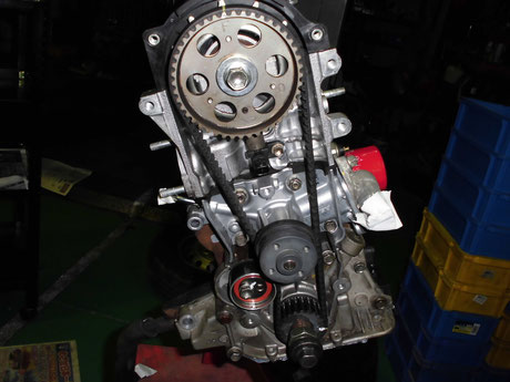 S320V ハイゼット タイミングベルト