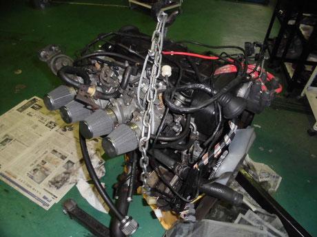 AE86トレノ 5バルブ