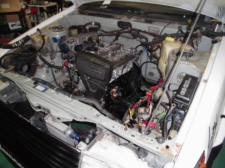 AE86 耐久用エンジン