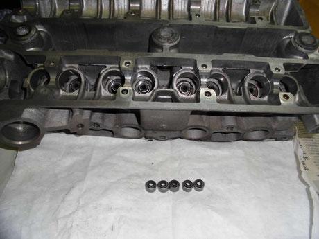 AE86 4AG バルブステムシール