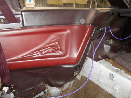 AE86 内張り修理 張替え 前期