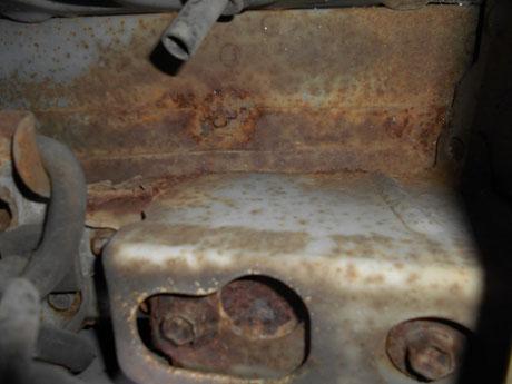 AE86トレノ レストア 牽引フックのボルト