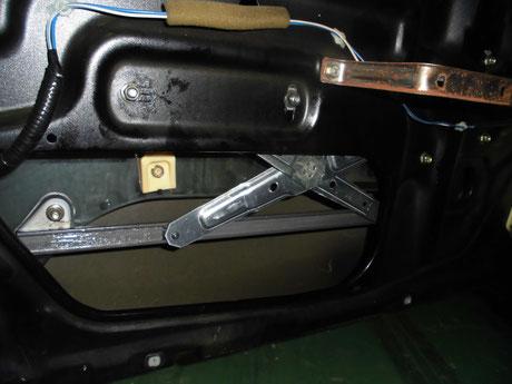 S14シルビア パワーウィンド修理
