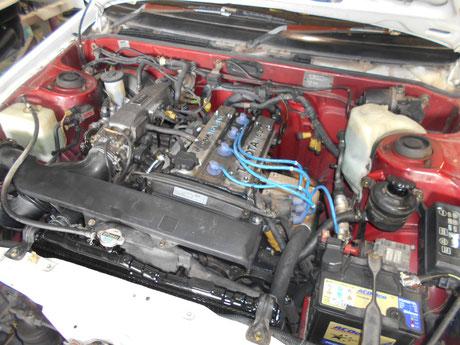 AE86 4AG オイル漏れ修理