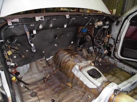AE86 トレノ 室内 分解