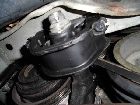 EK9 エンジン下側:マウント交換
