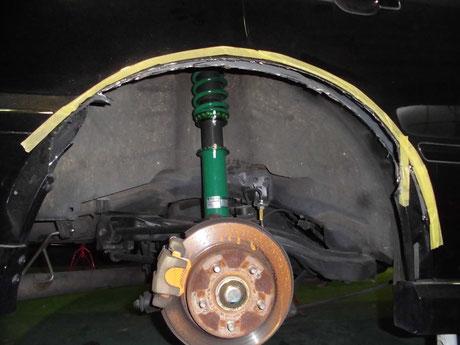 CL1 トルネオ リヤフェンダー