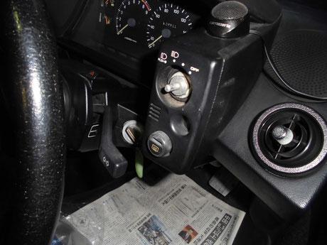 AW11 MR2 ヘッドライト修理