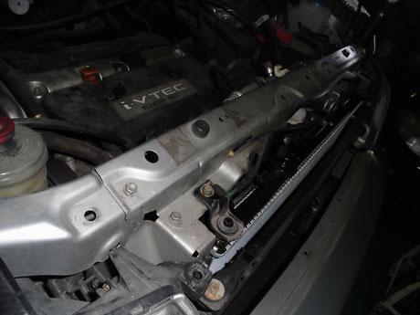 RF3 ステップワゴン ラジエター交換