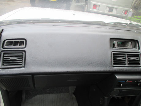 AE86 ダッシュボード修理