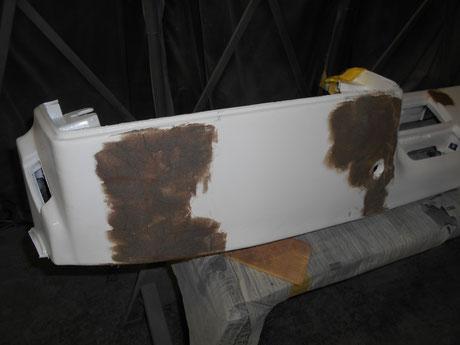 ハチロク ダッシュボード修理