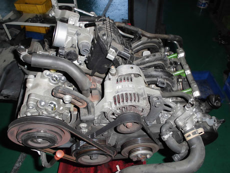 S320Vハイゼット エンジン修理 メタル音