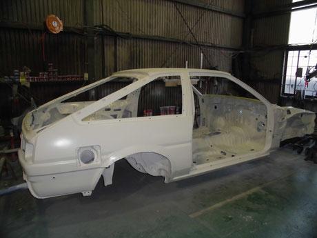AE86 フルスポットボディ 塗装