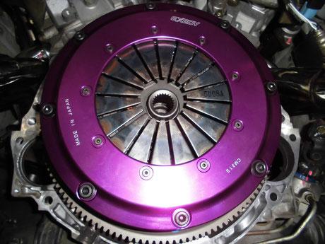 Z33 クラッチカバー