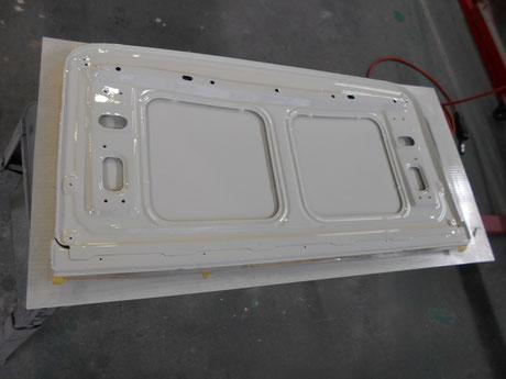 AE86 ルーフ 塗装
