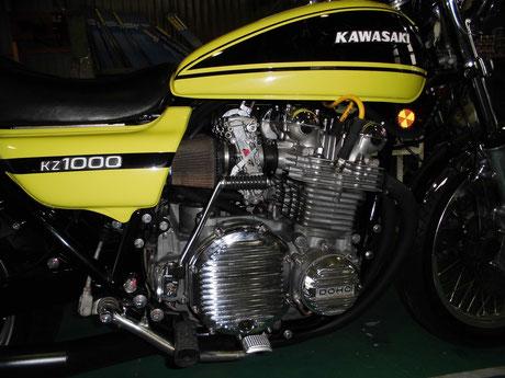 KZ1000 エンジンオイル