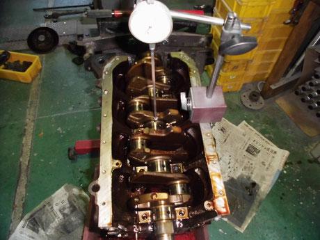 AW11 MR2 クランクシャフト測定