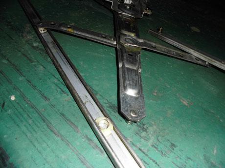 S14シルビア ウィンドレギュレター破損