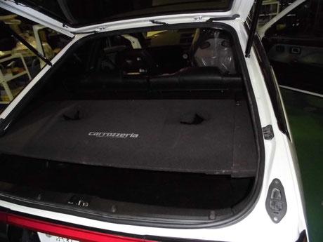 AE86 トレノ リヤスピーカーボード