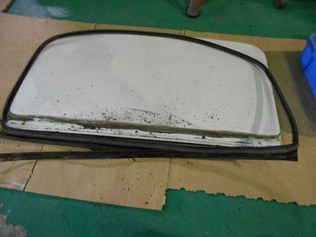 AE86サンルーフ修理 レストア