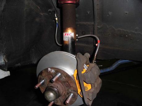 AE86 レビン ブレーキローター交換