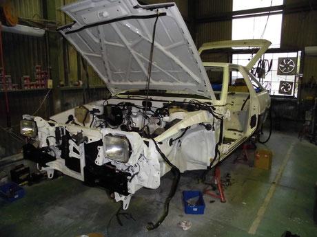 AE86 トレノ レストア ヘッドライト