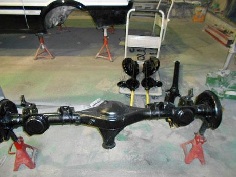 AE86 レビン ホーシング塗装