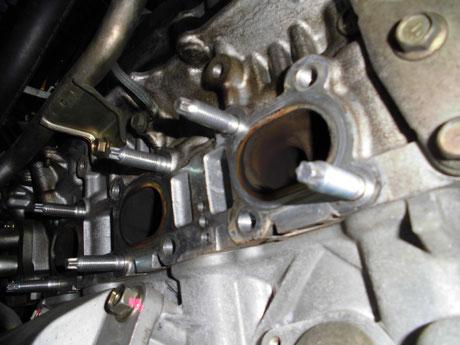 Z33 エキマニボルト交換