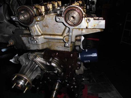 AE86 トレノ カムシールオイル漏れ