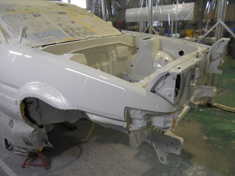 AEハチロク トレノ フロント塗装