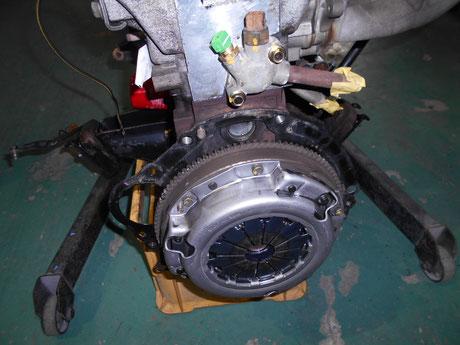 AE86 クラッチ交換