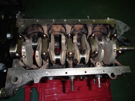 AE86レビン クランクシャフト