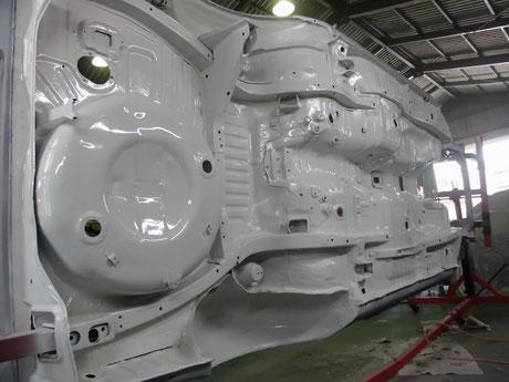 AE86トレノレストア アンダーボディ