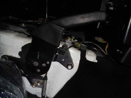 AW11 MR2 サイドブレーキ