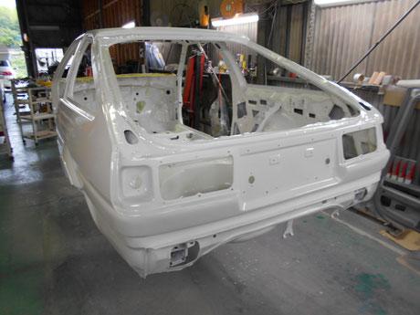AE86フルレストア ホワイトボディ販売