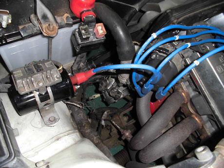 AE86 レビン イグニッションコイル デスビキャップ