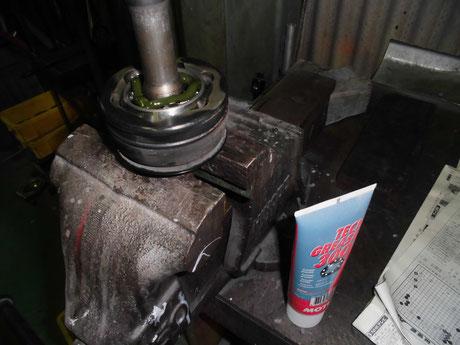AW11 MR2 ドライブシャフト洗浄