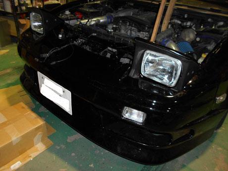 S14リトラクタブルヘッドライト