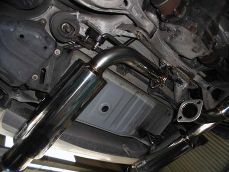 Z33 マフラー交換