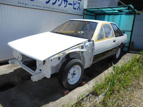 AE86 2ドア レビン 前期 レストア ホワイトボディ販売