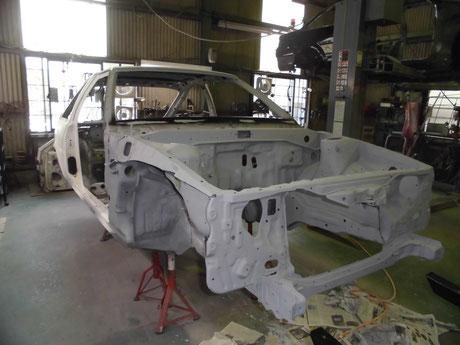 AE86トレノ フルレストア 塗装