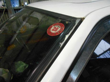 ガラスモール AE86レビン