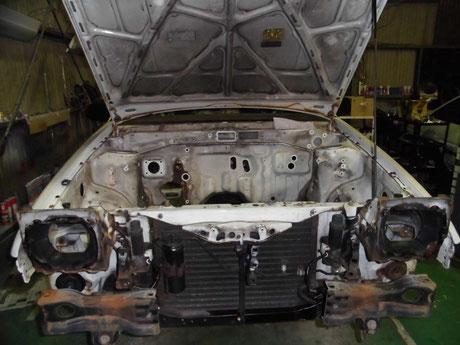 AE86 トレノ レストア