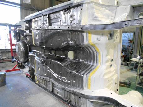AE86 アンダーボディ